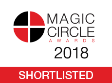 Citywealth Magic Circle Awards 2018 shortlisting