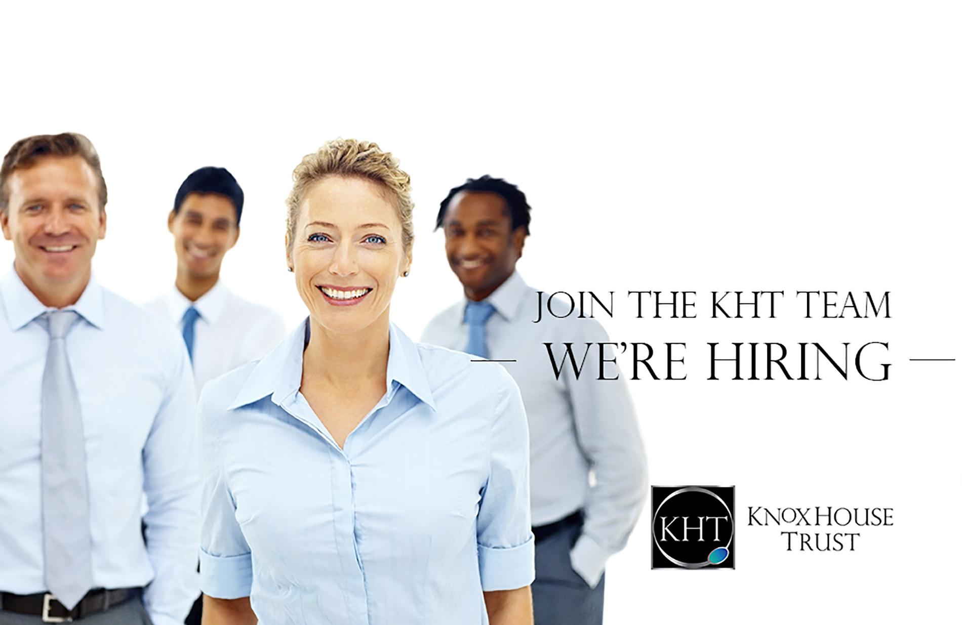 KHT are hiring