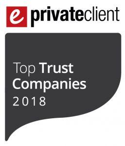 2018 eprivateclient Top Trust Companies logo