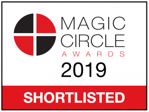 Citywealth Magic Circle Awards 2019 shortlist